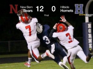 New Bern interception