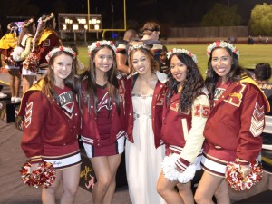 Alemany cheerleaders 10-10