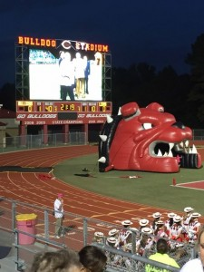 Carthage Bulldogs 10-10
