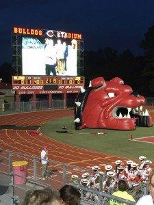 Carthage Bulldogs 10-10