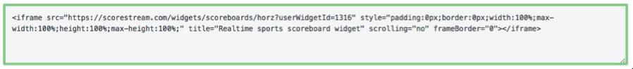 widgetCreator-html iframe