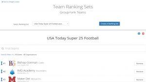 Rankings 5